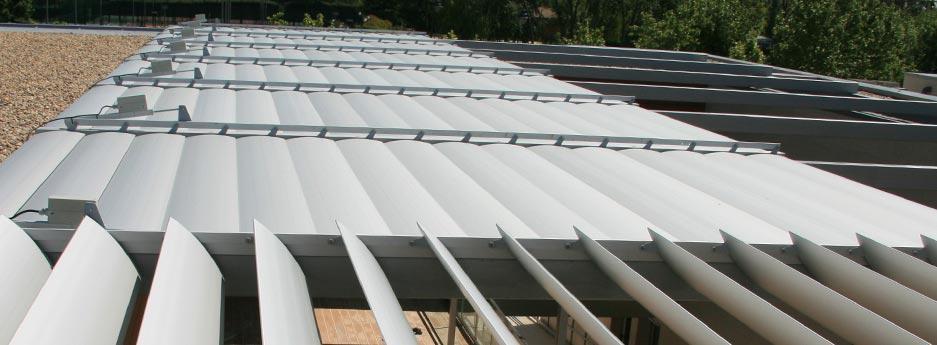 Tamiluz Brise Soleil Et Brise Vues Lames Orientables Aluminium Brise Soleil Aluminium