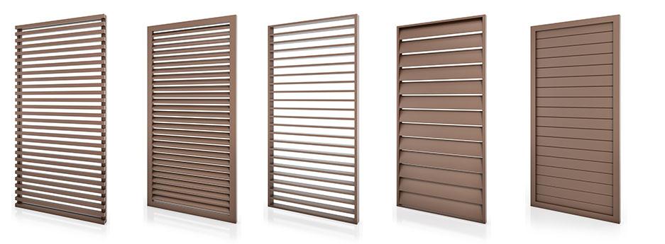 Tamiluz sistemas de protecci n solar persianas - Celosias de aluminio ...
