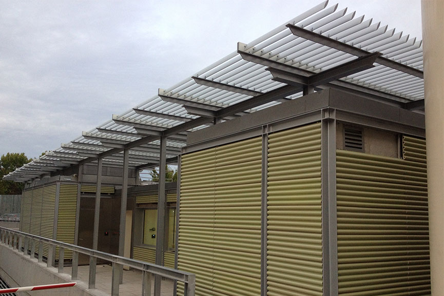 Tamiluz Solar Shading Projects Louvers Adjustable